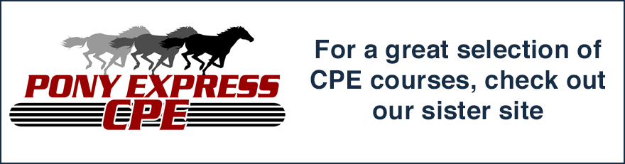 For a great selection of CPE courses, check out our sister site